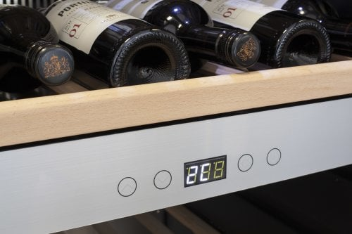 CASO WineChef Pro 126 App-controlled wine control device - Two separate temperature zones