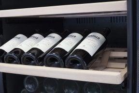 CASO WineComfort 180 Hochwertiger Weinkühlschrank mit Kompressortechnik