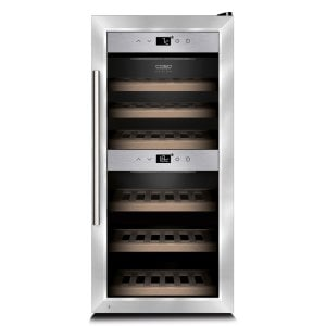 CASO WineComfort 24 Hochwertiger Weinkühlschrank mit Kompressortechnik