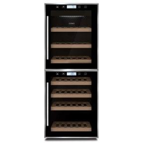 CASO WineComfort Touch 38 2D Hochwertiger Weinkühlschrank mit Kompressortechnik