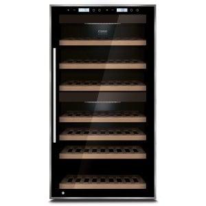 CASO WineComfort Touch 66 Hochwertiger Weinkühlschrank mit Kompressortechnik