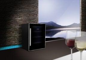 CASO WineDuett Touch 12 Hochwertiger Weinkühlschrank