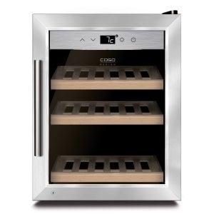 CASO WineSafe 12 Classic Hochwertiger Weinkühlschrank mit Kompressortechnik