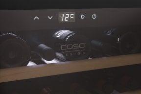 CASO WineSafe 18 EB Hochwertiger Weinkühlschrank mit Kompressortechnik - Einbaugerät 45er Nischenmaß