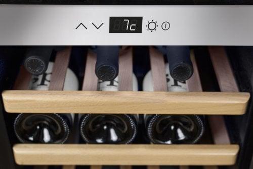 CASO WineSafe 43 Hochwertiger Weinkühlschrank mit Kompressortechnik