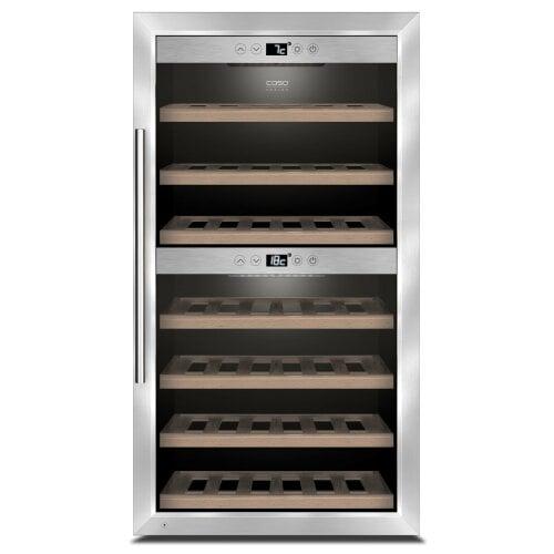 CASO WineComfort 660 Smart Hochwertiger Weinkühlschrank mit Kompressortechnik