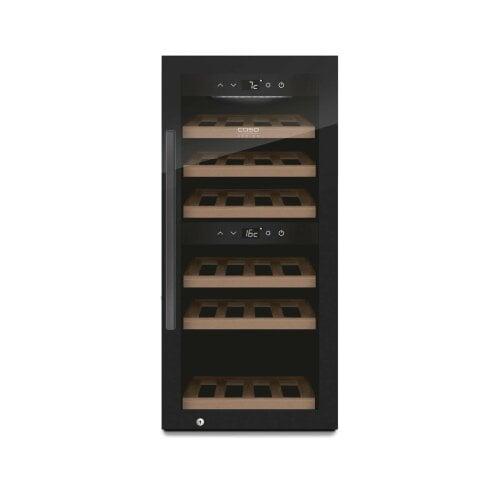CASO WineExclusive 24 Smart Design Weinkühlschrank für bis zu 24 Flaschen