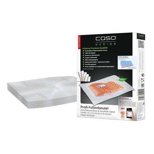 CASO Folienbeutel 16x23cm, 50St. Folienbeutel