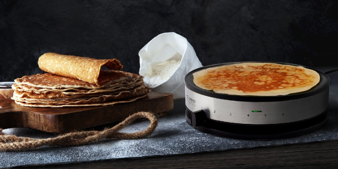 Do it your Crêpes! - Whether hearty or simply light - homemade crepes at the hustle and bustle