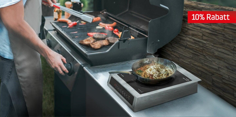 Mobile Küche für zuhause oder im Urlaub - Wochenend Special - 10% auf alle Induktionskochfelder