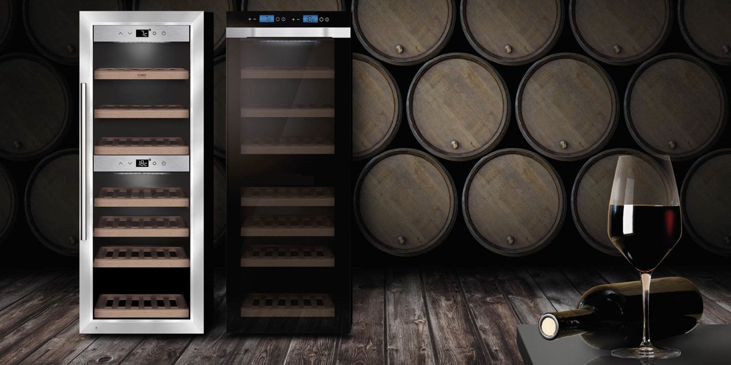 Enjoy what's really good - Our wine coolers with WiFi Smart - Control