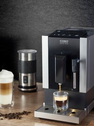 Coffee, Tea & More - Celebrate real coffee enjoyment with the CASO DESIGN devices.