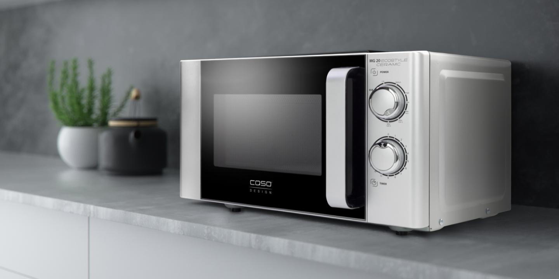 Mikrowellen & mehr - Die CASO Design Multifunktionsgeräte mit vielen Gargeräten und intuitiver Bedienung.