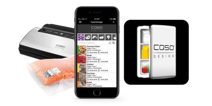 Food Manager App - App zur Lebensmittelverwaltung - für iOS und Android