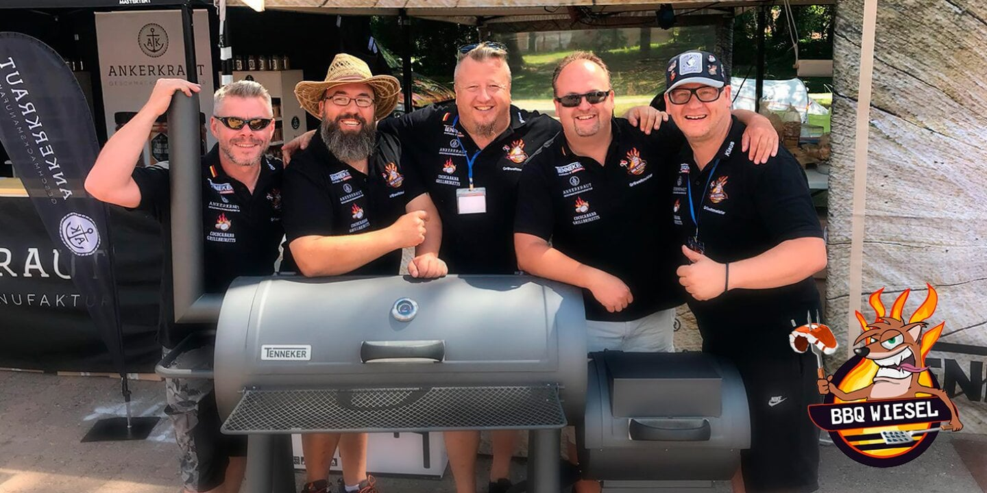 CASO Design vacuum systems - The reigning BBQ world champions (WBQA) recommend: