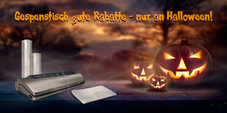 Halloween Special - 15% Rabatt auf ausgewählte Produkte!*