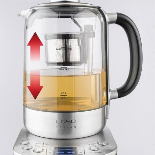 CASO TeeGourmet Pro Design Teekocher mit Auto-Lift-Funktion