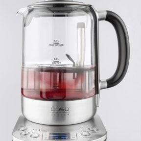CASO TeeGourmet Pro Design tea maker with auto lift function