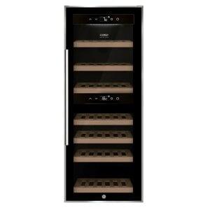 CASO WineComfort 38 Design Weintemperierer mit Kompressortechnik & Zwei Temperaturzonen