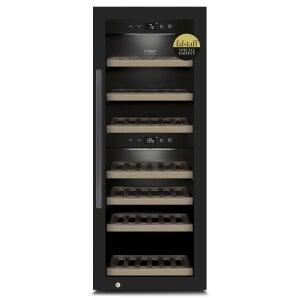 CASO WineExclusive 38 Smart Design Weinkühlschrank für bis zu 38 Flaschen